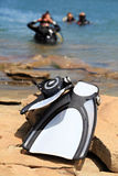équipement de plongée Photos stock