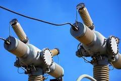 Équipement électrique à haute tension Image libre de droits