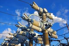 Équipement électrique à haute tension Images stock