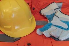 Équipement de protection requis pour les différents travaux image libre de droits