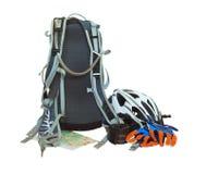 Équipement de bicyclette images stock
