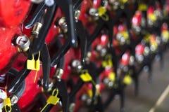 Équipement de respiration de sapeur-pompier de caserne de pompiers photo libre de droits