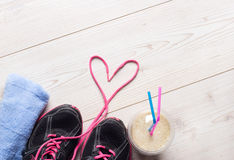 Équipement de sport pour pulser Photographie stock