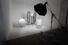 Équipement de studio Photos stock