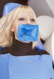 Équipement dentaire professionnel Images stock