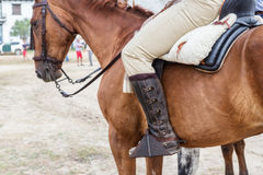 Équipement espagnol de cavalier Chevaux d'épiphanie Photo stock