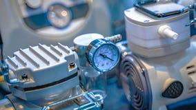 Équipement industriel d'indicateur de pression dans le laboratoire