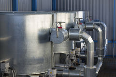 Équipement industriel fragment Images libres de droits