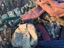 Équipement militaire Images stock