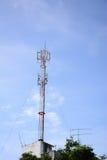 Équipement moderne d'antenne pour le mobile Images stock
