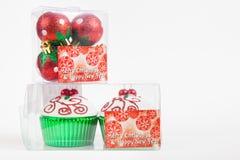 Équipement pour décorer des arbres de Noël Image stock