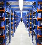 Équipement pour des étagères d'entrepôt, supports photos stock