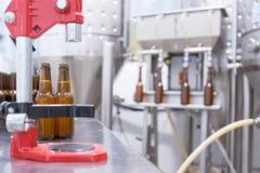 Équipement pour l'élaboration de bière Image libre de droits