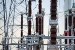 Équipement pour l'électrification Photo libre de droits