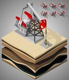Équipement pour l'huile et l'industrie du gaz illustration stock