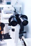 Équipement pour l'ophthalmologie photographie stock libre de droits