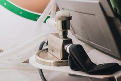Équipement pour l'oxgène respirable image stock