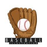Équipement pour le base-ball Images stock