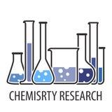 Équipement pour le laboratoire chimique Image stock
