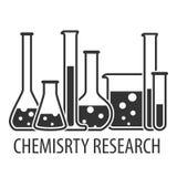 Équipement pour le laboratoire chimique Photo libre de droits