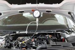 Équipement pour le moteur de voiture Photo libre de droits