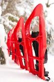 Équipement pour une hausse pendant l'hiver Image libre de droits