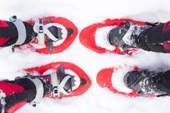 Équipement pour une hausse pendant l'hiver Photo libre de droits
