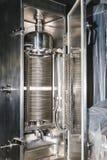Équipement thermique d'appareil-photo sur la fabrication pharmaceutique Image libre de droits