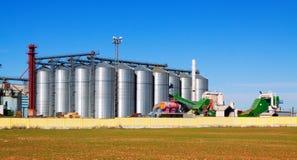 Équipements d'entrepôt pour le secteur agricole Image stock