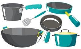 Équipements de cuisine Images stock
