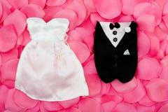 Équipements de mariage Images libres de droits
