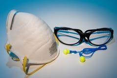 Équipements de protection individuelle Photographie stock libre de droits