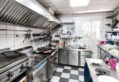 Équipements de surface et de cuisine de travail Photographie stock libre de droits