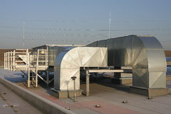 Équipements de ventilation image libre de droits