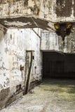 Équipements industriels abandonnés d'une mine Image libre de droits