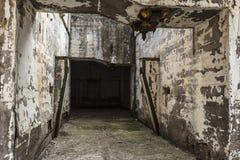 Équipements industriels abandonnés d'une mine Images libres de droits