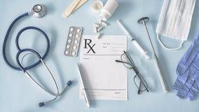 Équipements médicaux, concept de soins de santé Photographie stock libre de droits
