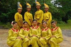 Équipements traditionnels malais Photos libres de droits