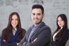 Équipez l'équipe d'affaires image stock