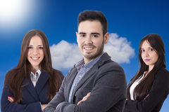 Équipez l'équipe d'affaires photo libre de droits