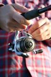 Équipez la pêche Photos stock
