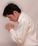 Équipez la prière Photos stock