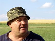 Équipez le fermier Photographie stock