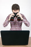 Cherchez et détruisez photo libre de droits