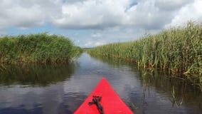 Équitation de canoë au Danemark Photo libre de droits