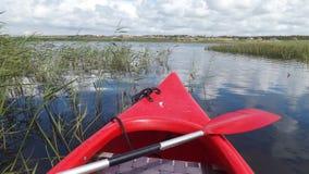 Équitation de canoë au Danemark Image libre de droits
