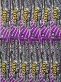 Éraflure de NJ outre des billets de loterie, Etats-Unis Ð « Photos stock