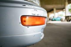 Éraflure de voiture Image stock