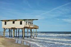 Érosion côtière Photographie stock libre de droits