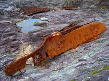 Érosion de bateau Image libre de droits